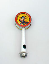 FELIX THE CAT PENNY TOY PFEIFE  - MADE IN ITALY - 1930 ER JAHRE -*****