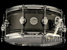 DW 14 x 6.5 Design Series Black Nickel over Brass Snare Drum