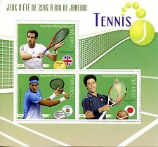 Madagascar 2016 MNH Rio Games Olympics Tennis Andy Murray 3v M/S Sports Stamps
