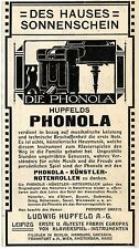 Ludwig Hupfeld A.- G. Leipzig Phonola des Hauses Sonnens... Histor. Annonce 1907