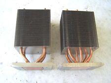 CPU Heatsinks Dell 470 670 lot of 2 Processor Heat Sinks