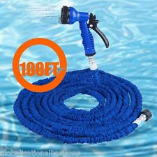 100FT Expanding Flexible Garden Water Pocket Hose Pipe Jet with Spray Nozzle Car