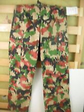 Genuine Swiss Army Alpine Camo trousers - ALPENFLAGE. GRADE 1