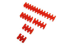 Red Cable Comb Set For 3mm OR 4mm Sleeved cable Water Cooling