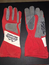 Original Michael Schumacher Kart Gloves Signed & USED by Michael **TOP&RAR**