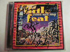 LITTLE FEAT CHINESE WORK SONGS CD AUTOGRAPHED BY ENTIRE BAND BELA FLECK RARE