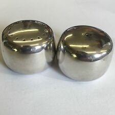 Retro George Jensen Solid Silver Set Salt & Pepper Shakers Henning Koppel 1135