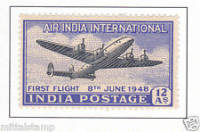 PHILA285 INDIA 1948 INAUGURATION OF INDIA U K AIR SERVICE FIRST FLIGHT MNH