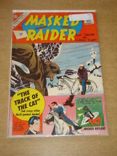 MASKED RAIDER #30 VG (4.0) CHARLTON COMICS JUNE 1961