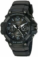 Casio Men's Chronograph Watch, Made of Heavy Duty Quartz Stainless Steel & Resin