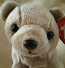 TY Beanie Babies NEW ALMOND BEAR Introduced and Retired in 1999 ~ Sweet and Cute