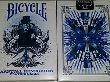 Karnival Renegades Blue Deck Bicycle Playing Cards Big Blind Media Sam Hayles
