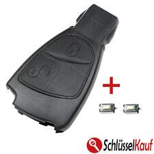 Mercedes Benz Autoschlüssel 2 Tasten Gehäuse W169 W245 S202 S203 +2x Mikrotaster