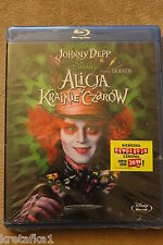 Alicja w Krainie Czarów / Alice in Wonderland Blu-ray Czech English Polish