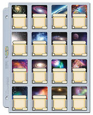 25 ULTRA PRO 16 POCKET PLATINUM PAGES Mini American Star Wars Zombicide Game