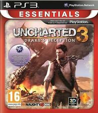 UNCHARTED 3 DRAKE'S DECEPTION PS3 (PRE OWNED) (USED) Excellent Condition