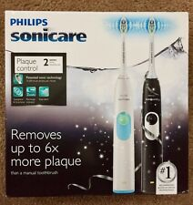 Philips Sonicare 2 Series HX6212 Plaque Control Dual Handle Electric Toothbrush