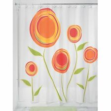 InterDesign Marigold Shower Curtain, Red and Orange, 72-Inch by 72-Inch , New, F