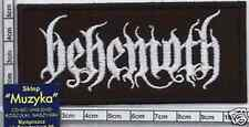 = BEHEMOTH embroidery patch ,aufnäher, naszywka#[polish black-pagan-death metal]