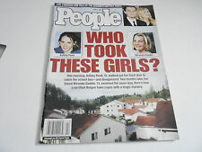 JUNE 3 2002 PEOPLE magazine (NO LABEL) UNREAD - WHO TOOK THESE GIRLS?
