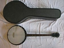 Vintage Silvertone / Harmony Tenor Banjo with Original Case