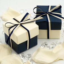 Luxury DIY Two Tone Box & Lids Wedding Christmas Baby Shower Party Favour Boxes