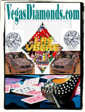 Vegas Diamonds .com  Domain Name Website Ring Earrings Pendant Bracelet Store