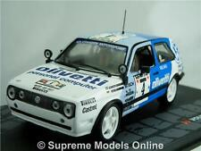 VOLKSWAGEN GOLF GTI 16V RALLY MODEL CAR ERIKSSON 1:43 SCALE 1987 IXO K8967Q