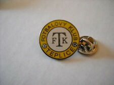 a1 TEPLICE FC club spilla football calcio fotbal pin kolik badge rep ceca czech