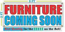 FURNITURE COMING SOON Banner Sign NEW Larger Size Best Quality for the $$$
