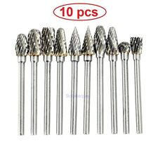 Set Grinding Accessories Tungsten Steel Carbide Rotary Burr Engraving For Dremel
