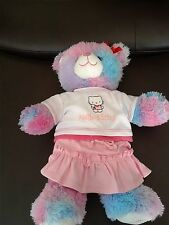 BEAR FACTORY / BUILD A BEAR HELLO KITTY TOP AND SKIRT/SHORT