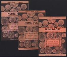 █ Lot 3x NUMIS-POST Monatszeitschrift für den Münzensammler Antik-Post SUISSE █