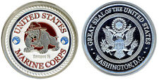 CARD GUARD - UNITED STATES MARINE CORPS POKER PROTECTOR COIN - FREE SHIPPING *