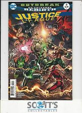 JUSTICE LEAGUE   #11  NEW  (BAGGED & BOARDED) FREEPOST