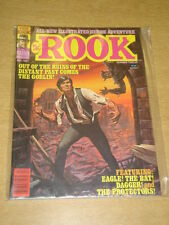 ROOK #12 1981 DEC NM WARREN US MAGAZINE EAGLE THE BAT DAGGER PROTECTORS GOBLIN