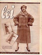 rivista LEI ANNO 1954 NUMERO 43
