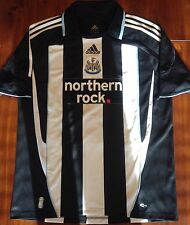 Adidas Newcastle United 2007-2009 Mint Home Soccer Jersey Men's L England