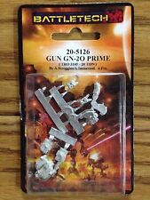 Battletech Miniatures: Gun Prime 20-5126 Click for More Savings!