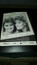 The Judds Don't Be Cruel Rare Original Promo Poster Ad Framed!