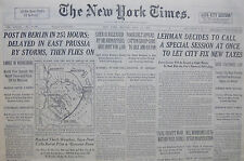 7-1933 WWII July 17 RIVAL GROUPS WAR WITHIN GERMAN RANKS. LUER IS RELEASED