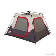 Coleman Instant Dome Tent 4 Person 8' x 7' Outdoor Family Camping Cabin Tents