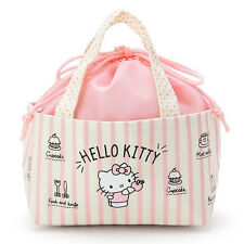 Hello Kitty mini Insulated Lunch Bag Bento Sanrio Kawaii Cute F/S NEW