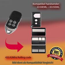 Handsender kompatibel zu Garagentor  4330EML,4332EML,4333EML,4335EML  433,92Mhz