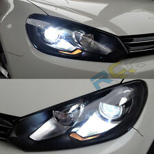 HID Headlights For VW Golf MK6 2010-2013 Bi-xenon Projector Head Lamps