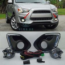 Fog Light Lamp & Harness Switch Kit for Mitsubishi Outlander Sport 2013-2015