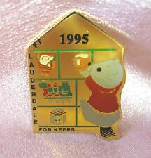 FORT LAUDERDALE FOR KEEPS Lapel Pin - Hallmark Collectors Club/Ft Lauderdale FL