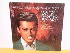 LP - JACK JONES - WHAT THE WORLD NEEDS NOW IS LOVE