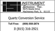 Car Clock Quartz Conversion Service