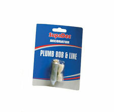 SupaDec DIY Decorating Plumb Bob & Line - Ensure Accurate Hanging of Wallpaper